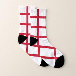 All Over Print Socks with Flag of England 1