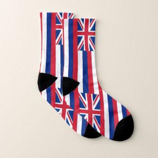 All Over Print Socks with Flag of Hawaii 1