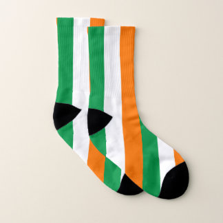 All Over Print Socks with Flag of Ireland 1
