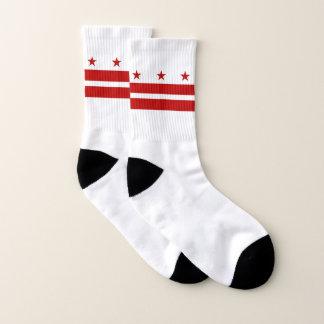 All Over Print Socks with Flag of Washington DC