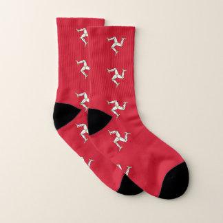 All Over Print Socks with Isle of Man Flag, UK 1