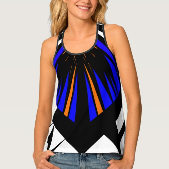 All over Print Top with artistic design Tank Top