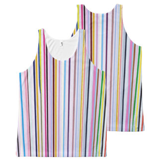 All-Over Printed Unisex Multi-color Tank
