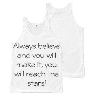 All-Over Printed Unisex Tank