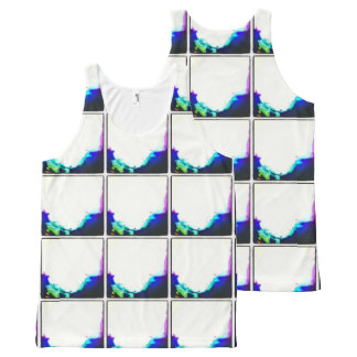 All-Over Printed Unisex Tank With Tiled Photo