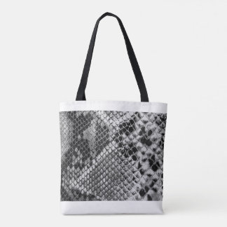 All-Over Snake 2 Print Tote Bag