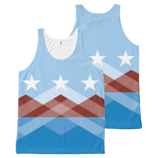 All-over Tank Top