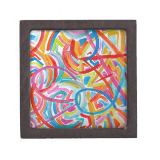 All Paths End There-Abstract Art Hand Painted Premium Gift Box