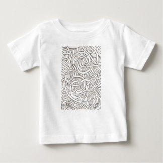All Paths End There-Black and White Baby T-Shirt