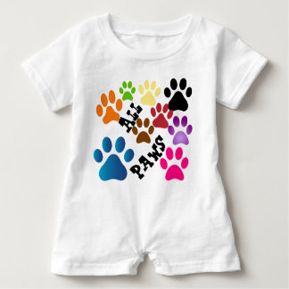 All Paws Baby Romper
