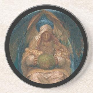All Pervading Spirit Angel Coaster