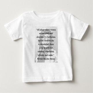 All Places - Harriet Beecher Stowe Baby T-Shirt