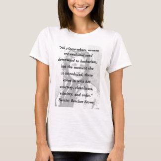 All Places - Harriet Beecher Stowe T-Shirt