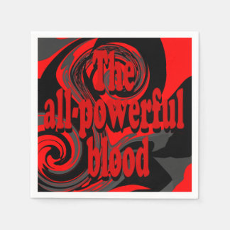 All-Powerful Blood Napkins Paper Napkins