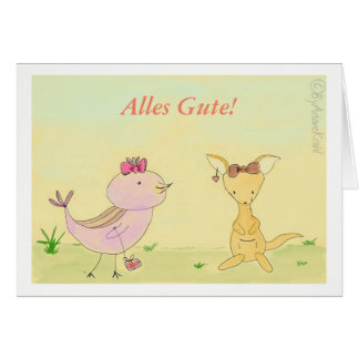 All property greeting map to the birth, birthday card