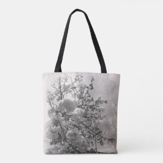 All-purpose tote bag with cherry blossoms