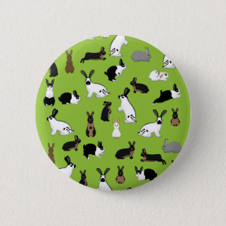 All rabbits 2 inch round button