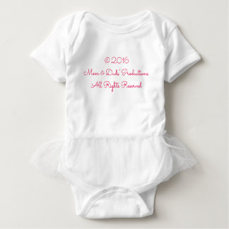 All Rights Reserved Baby T-Shirt