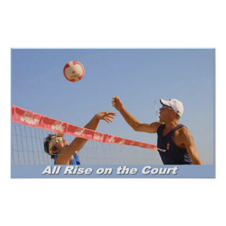 All Rise on the Court Poster