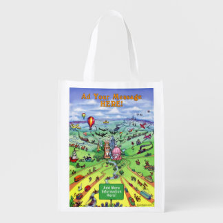 All Roads Lead to Austin Texas Market Totes