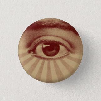All Seeing Eye 1 Inch Round Button