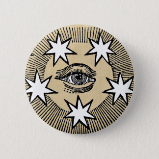 All-Seeing Eye 2 Inch Round Button