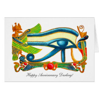 All Seeing Eye Of Horus Card