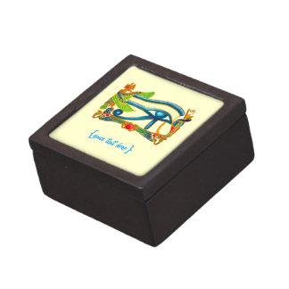 All Seeing Eye Of Horus Premium Keepsake Boxes