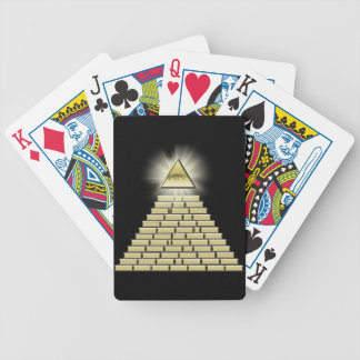 All Seeing Eye Pyramid 2 Bicycle Playing Cards
