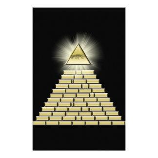 All Seeing Eye Pyramid 2 Stationery