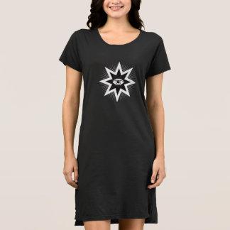 All Seeing Eye T-shirt Dress