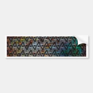 All Seeing Pattern Bumper Sticker