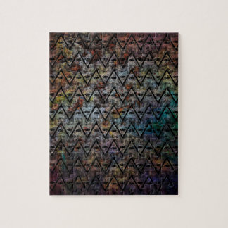All Seeing Pattern Jigsaw Puzzle
