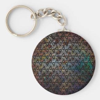 All Seeing Pattern Keychain