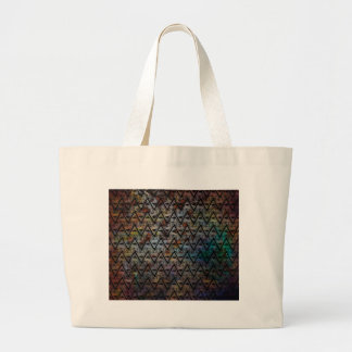 All Seeing Pattern Large Tote Bag