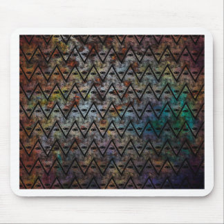 All Seeing Pattern Mouse Pad