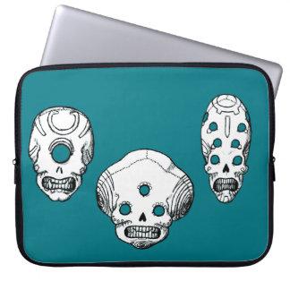All Seeing Skulls Laptop Computer Sleeves