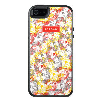 All Smiles Pattern | Add Your Name OtterBox iPhone 5/5s/SE Case