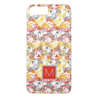 All Smiles Pattern | Monogram iPhone 8 Plus/7 Plus Case