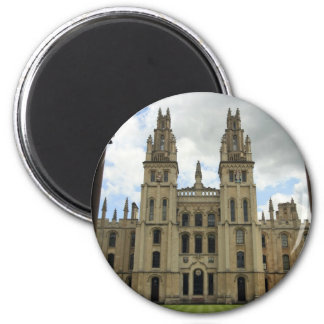 All Souls College, Oxford 2 Inch Round Magnet
