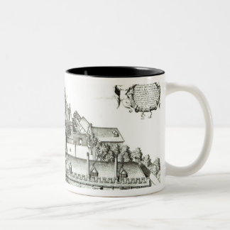 All Souls College, Oxford University, 1675 Two-Tone Coffee Mug