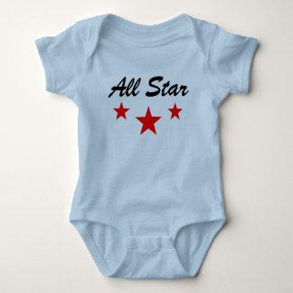 All star baby jersey, bodysuit, shirt