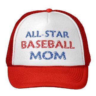 All-Star Baseball Mom Cap Trucker Hat