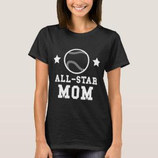 All Star Baseball Mom T-Shirt