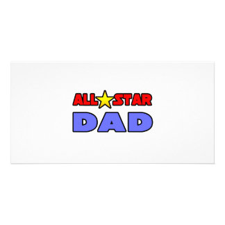 All Star Dad Photo Cards
