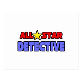 All Star Detective Postcard