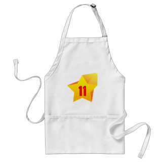 All Star Eleven years old Birthday Aprons