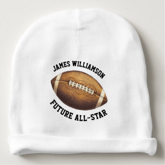 All-Star Football Add Name Baby Beanie