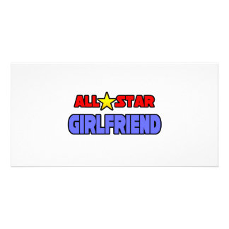 All Star Girlfriend Picture Card