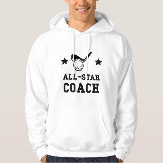 All Star Golf Coach Hoodie